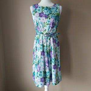 Talbots Petites Floral Dress
